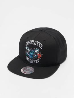 Mitchell & Ness Кепка с застёжкой NBA Charlotte Hornets Wool Solid черный
