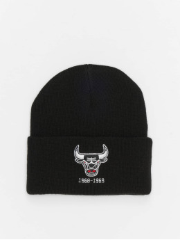 Mitchell & Ness Bonnet NBA Team Logo Cuff Knit noir