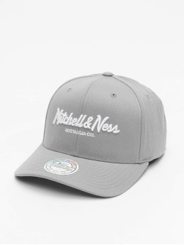 Mitchell & Ness Casquette Snapback & Strapback Own Brand Pinscript 110 gris