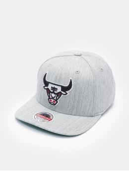 Mitchell & Ness Casquette Snapback & Strapback Team Heather Stretch HWC Chicago Bulls  gris