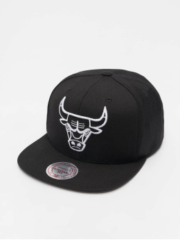 Mitchell & Ness Casquette Snapback & Strapback NBA Chicago Bulls Wool Solid noir