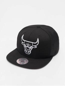 Mitchell & Ness Casquette Snapback & Strapback NBA Chicago Bulls Wool Solid noir