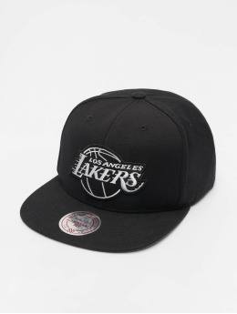 Mitchell & Ness Casquette Snapback & Strapback NBA LA Lakers Wool Solid noir