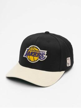 Mitchell & Ness Casquette Snapback & Strapback LA Lakers HWC Cord noir