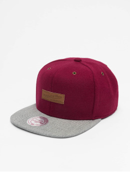 Mitchell & Ness Casquette Snapback & Strapback Prime OB rouge