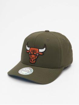 Mitchell & Ness Casquette Snapback & Strapback NBA Battle Chicago Bulls vert