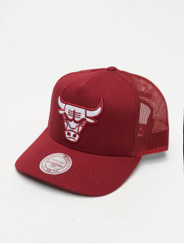 Mitchell & Ness Casquette Trucker mesh NBA Chicago Bulls Classic rouge
