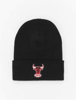 Mitchell & Ness Czapki HWC Team Logo Chicago Bulls Cuff Knit czarny