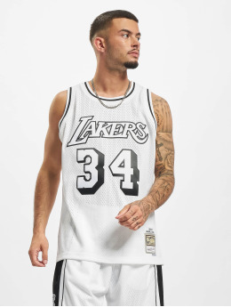 Mitchell & Ness Débardeur Swingman LA Lakers Shaquille O'Neal blanc