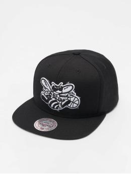 Mitchell & Ness Gorra Snapback NBA Charlotte Hornets Wool Solid negro