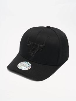 Mitchell & Ness Snapback NBA Chicago Bulls 110 Black On Black èierna