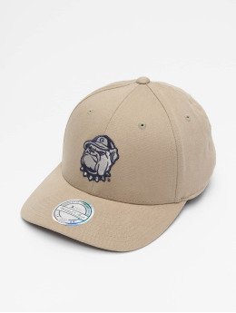 Mitchell & Ness Männer,Frauen Snapback Cap NCAA Snapback Low Pro Team Logo in beige