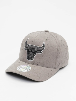 Mitchell & Ness Snapback Cap Chicago Bulls Speck grau