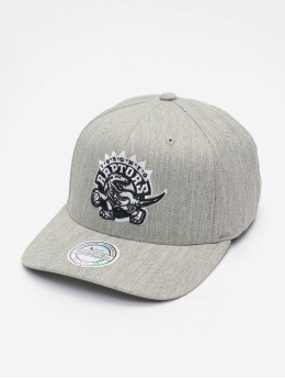 Mitchell & Ness Snapback Cap NBA Blk/Wht Logo 110 grau