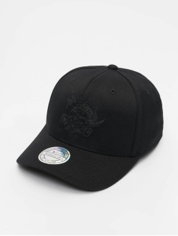 Mitchell & Ness Snapback Cap NBA Toronto Raptors 110 Black On Black nero
