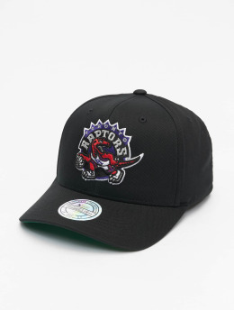Mitchell & Ness Snapback Cap T. Raptors Team Logo High Crown 6 Panel 110 nero