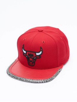 Mitchell & Ness Snapback Cap Day 3 Chicago Bulls red