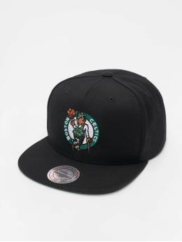 6b2bb5352fb 2tone grün. Mitchell   Ness Snapback Cap NBA Boston Celtics Wool Solid  schwarz