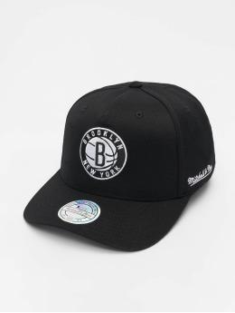90ca4ca6cfc Mitchell   Ness Snapback Cap NBA Brooklyn Nets 110 schwarz