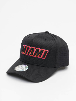 Mitchell & Ness Snapback Cap City Series M. Heat schwarz