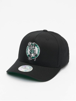 Mitchell & Ness Snapback Cap NBA Boston Celtics Team Logo High Crown 6 Panel 110 schwarz