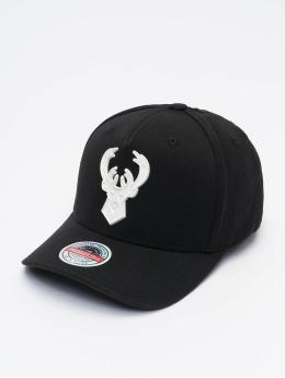 Mitchell & Ness Snapback Cap Casper Redline Milwaukee Bucks schwarz
