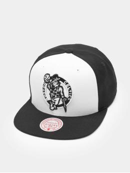 Mitchell & Ness Snapback Cap Front Post Bosten Celtics white