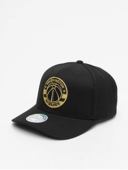 Mitchell & Ness snapback cap M&n NBA W. Wizards 110 Curved zwart