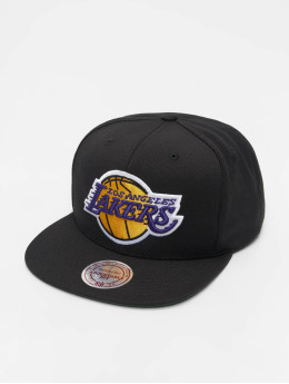 Mitchell & Ness Snapback Caps NBA Wool Solid čern