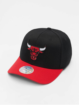Mitchell & Ness Snapback Caps NBA Chicago Bulls 110 2 Tone čern