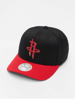 Mitchell & Ness Snapback Caps NBA Houston Rockets 110 2 Tone čern