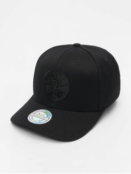 Mitchell & Ness Snapback Caps NBA Boston Celtics 110 Black On Black čern