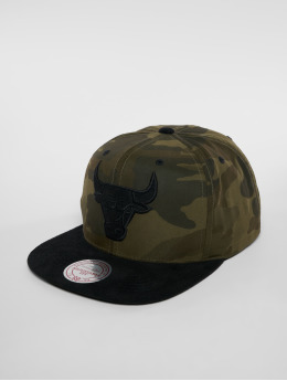 Mitchell & Ness Snapback Caps Woodland Camo Chicago Bulls camouflage