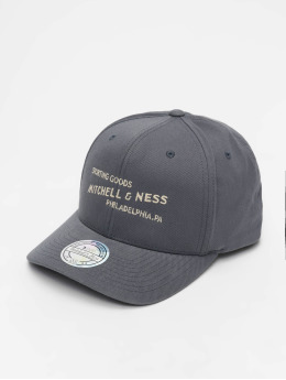 Mitchell & Ness Snapback Caps Sporting Goods grå