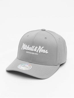 Mitchell & Ness Snapback Caps Own Brand Pinscript 110 harmaa