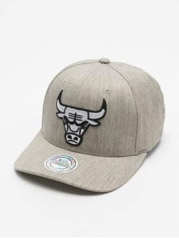 Mitchell & Ness Snapback Caps NBA Blk/Wht Logo 110 harmaa