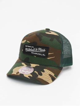 Mitchell & Ness Snapback Caps Own Brand Box Logo Classic kamufláž