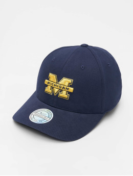 Mitchell & Ness Snapback Caps NCAA modrý