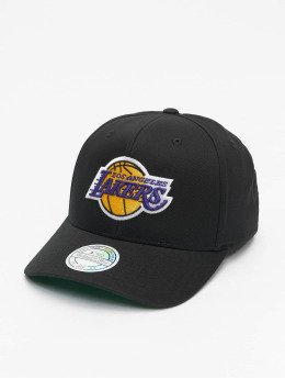 Mitchell & Ness Snapback Caps L.A. Lakers Logo High Crown 6 Panel 110 musta