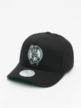 Mitchell & Ness Snapback Caps NBA Boston Celtics Team Logo High Crown 6 Panel 110 musta