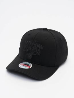 Mitchell & Ness Snapback Caps Black Out Arch Redline Miami Heat  musta