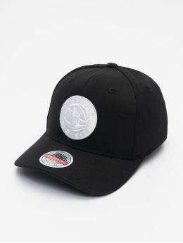 Mitchell & Ness Snapback Caps Duotone Redline Brooklyn Nets musta