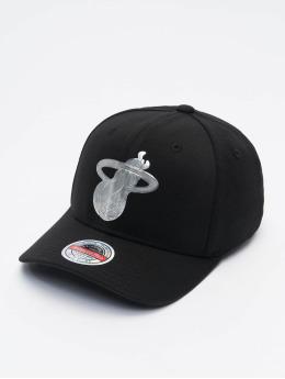 Mitchell & Ness Snapback Caps Cyber Redline Miami Heat musta