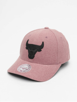 Mitchell & Ness Snapback Caps NBA Erode Chicago Bulls růžový