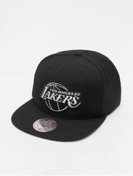 Mitchell & Ness Snapback Caps NBA LA Lakers Wool Solid sort