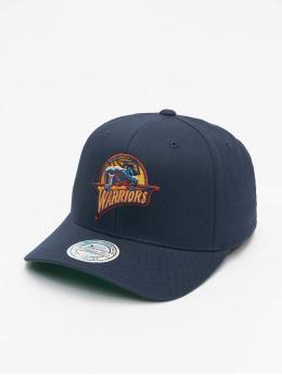 Mitchell & Ness Snapback Caps Golden State Warriors Team Logo High Crown 6 Panel 110 svart