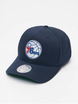 Mitchell & Ness Snapbackkeps NBA Team Logo High Crown 6 Panel 110 Philadelphia 76ers blå