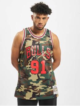 Mitchell & Ness T-paidat NBA Chicago Bulls Swingman D. Rodman camouflage