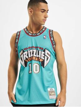 Mitchell & Ness Tank Tops NBA Swingman Vancouver Grizzlies Mike Bibby turkoosi