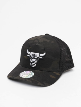 Mitchell & Ness Trucker Cap Multicam Chicago Bulls camouflage